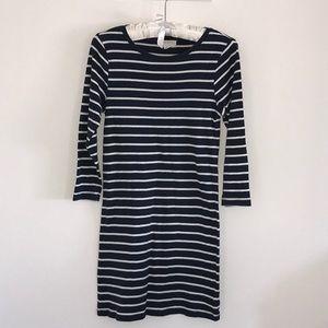 Forever 21 Essentials Nautical tee dress sz medium